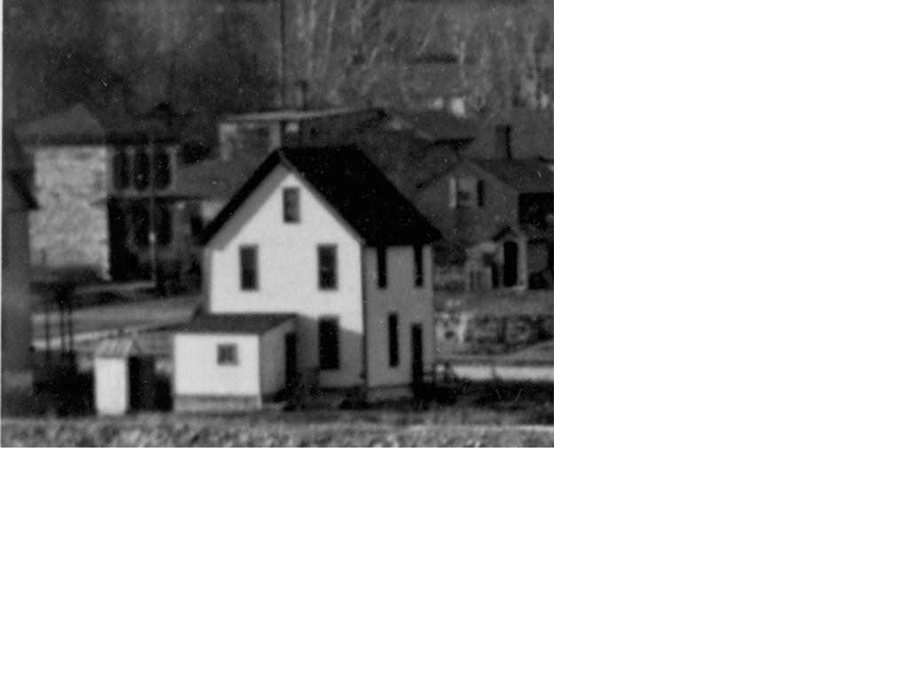 Enlargement of Waldman House (far left) from 1894 image above.