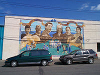 Mural off of State and Concord Streets
